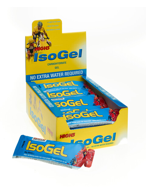 High5 IsoGel - Nutrition sport - Red Fruits 25 x 60ml